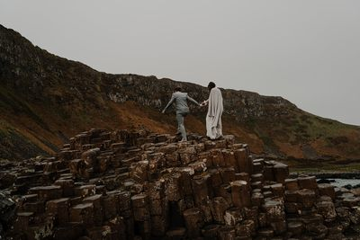 Giant's Causeway Natural Wonder for your elopement in Northern Ireland