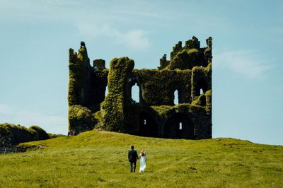 Get married in a private castle ruin in Ireland