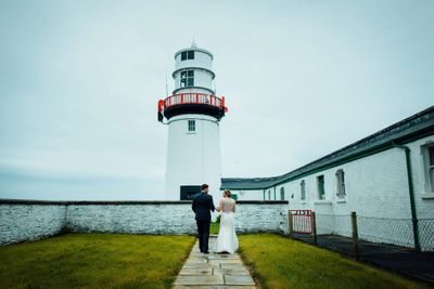 Vow renewal location at Galleys Head lighthouse in Cork
