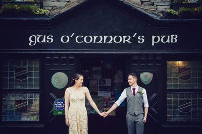Gus O'Connor's Pub in Doolin for your Cliffs of Moher wedding reception