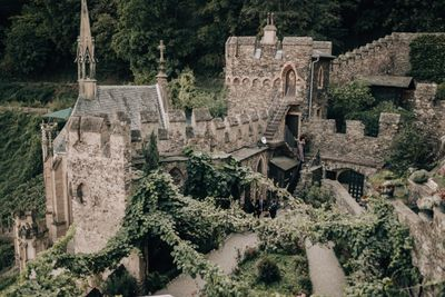 Hilltop castle for destination weddings on the Rhine River