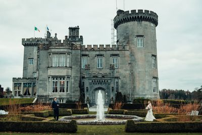 Luxurious castle in county Clare for elopements in Ireland