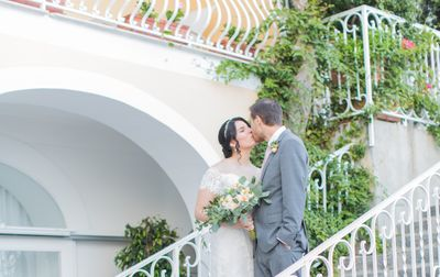 Couple who married in Italy