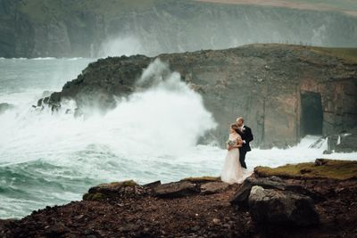 Dramatic location for elopements in Ireland on the Dingle peninsula