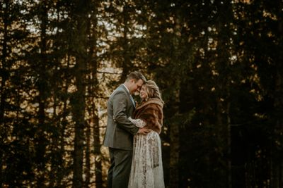 Wedding in the Black Forest in Germany