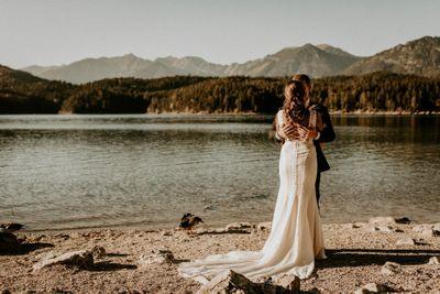 Lakeside destination wedding in Bavaria