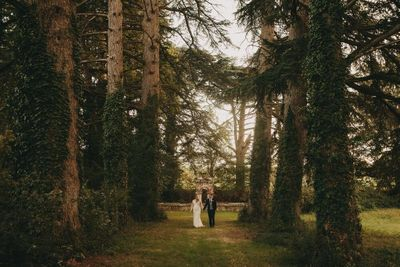 Outdoor woodland wedding venue in South West France