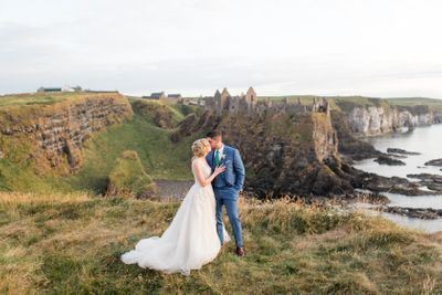 Wedding at Dunluce Castle in Northern Ireland