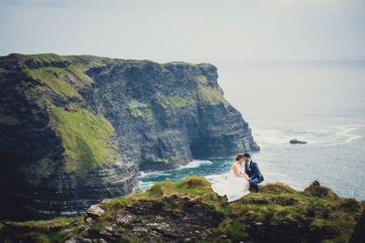 Cliffs of Moher wedding in Ireland