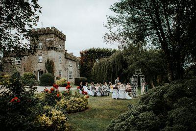 Private castle in Ireland for intimate destination weddings