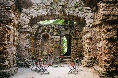 Romantic ruins for a wedding or elopement in Germany