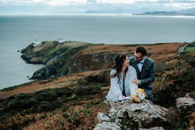 Wedding at Howth Head in Dublin