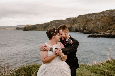 American couple who got married in Northern Ireland